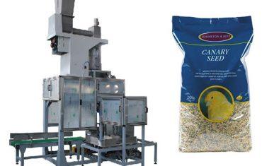 20 кг зрнести семиња со отворена уста и торба со висина на торби