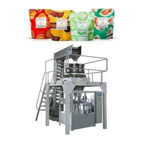 Автоматско пополнување машина за пакување за ципа торба