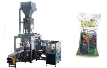 автоматска машина за пакување со вештачки ѓубрива од 50 кг