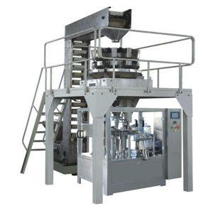 Автоматско гранула со гранула со тежина со полнење и запечатување на производна линија