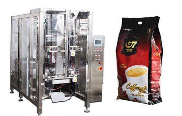 автоматски quad печат торба пакување машина волуметриски чаша пополнување машина