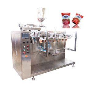 Пред-произведена четка кечап машина за пакување
