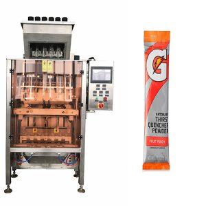 Мали Sachets Powde повеќе-линија пакување машина