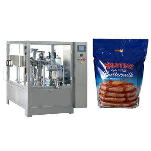 Машината за пакување со застанување со патент
